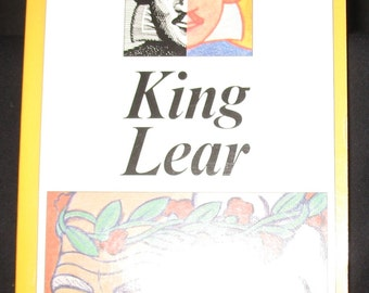 King Lear (Shakespeare Made Easy (Paperback)  Modern English Version Side-By-Side with Full Original Text - Barrons