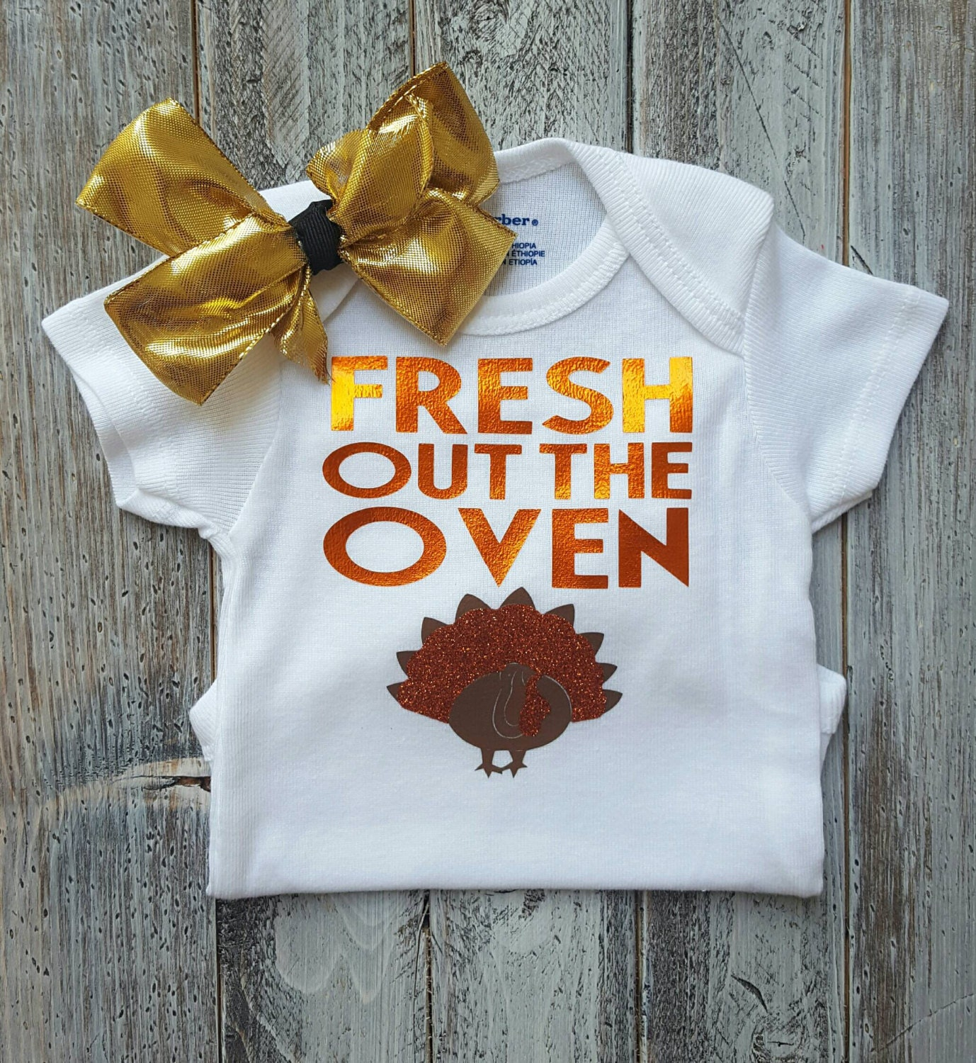 Thanksgiving Onesie First Thanksgiving Baby Girl Clothes