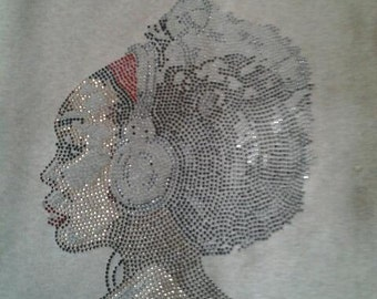 The Music Within Soul Sista Bling/Vinyl Tank