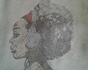 The Music Within Soul Sista Bling/Vinyl Tank