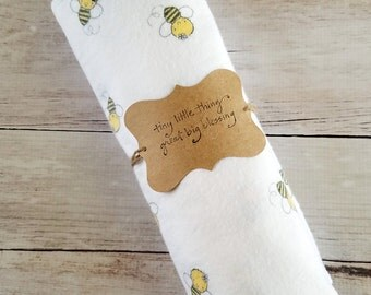 Swaddle Blanket | Baby Boy Swaddle | Bamboo Swaddle | Newborn Swaddling Blanket | Baby Receiving Blanket | Bamboo Receiving Blanket
