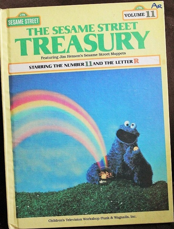 sesame street letter e sesame treasury volume 11 number 11 and the letter 24812
