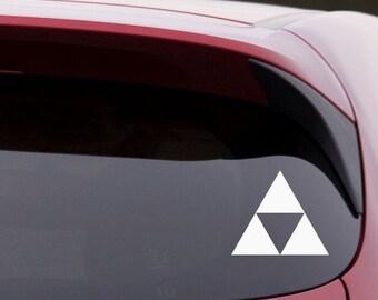 """6"""" Legend of Zelda Decal - """"Triforce"""""""