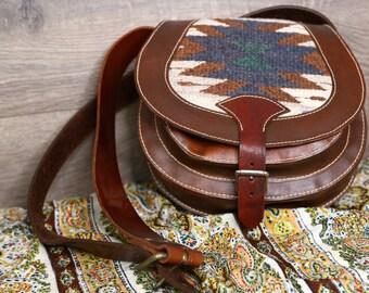 American Vintage leather sholder bag