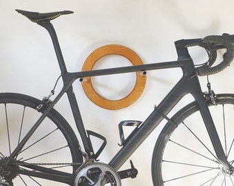 "Bike clothes ""RADhalter"". Bicycle wall rack is adjustable."