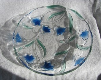 Mikasa Bluebells Green-Blue Platter - Final Clearance!