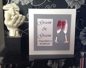 Groom & Groom Wedding Card