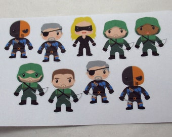 Arrow Character Stickers