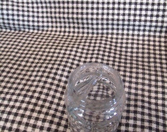 Vintage Glass Inkwell, (# 636/30)