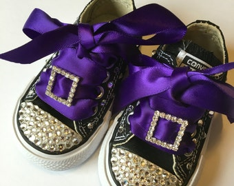 Toddler Converse All Star Blinged Out Little Girls Shoes