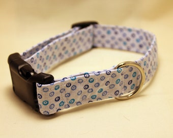 Blue Dots Collar