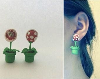 Mario Enemy Earrings