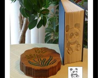 """Cut-N-Fold Book """"Panda"""""""
