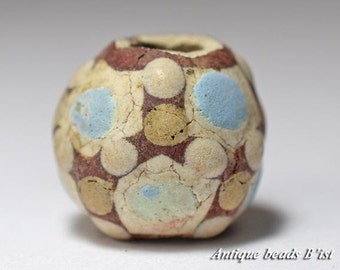 Chinese faience war-torn country big beads 【Free shipping】 【ZB13093-3】