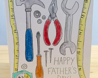 Toolbox -Father's Day Card