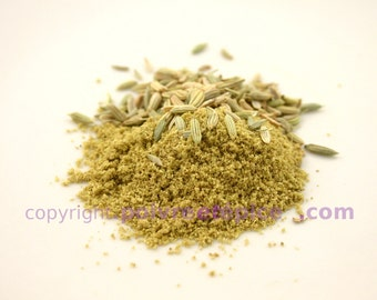 FENEL seed, grounded, powder