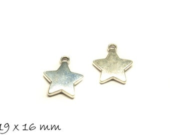 10 followers stamp plate Silver Star