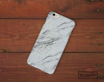 Marble Phone Case 4. White. For iPhone Case, Samsung Case, LG Case, Nokia Case, Blackberry Case and More!