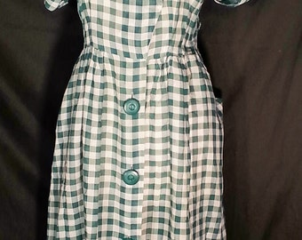 1940's handmade woman's dress