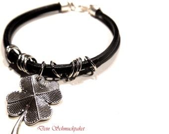 Leather Bracelet ~ lucky ~