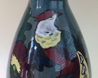 1920s Canning Decoro English Pottery Vase