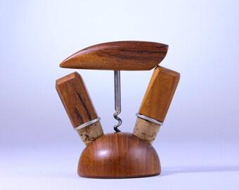 Vintage Barset wooden vintage Barset mid century 60s Gift for him Barware
