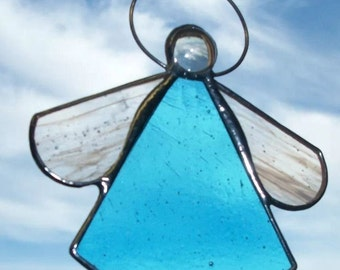 Hand made Stained Glass Decoration - Angel