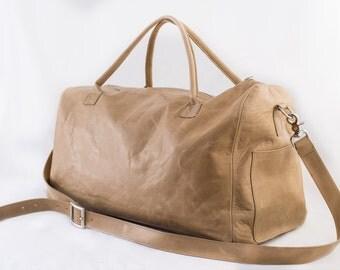 Leather Weekender, Trendy & Stylish Duffel Bag