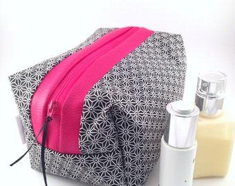 Toilet bag EMMA #2 Pink Black