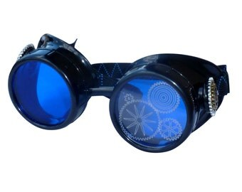 SteAMPunk GogGLes Victorian  Glasses diesel punk--P05 LImiTEd