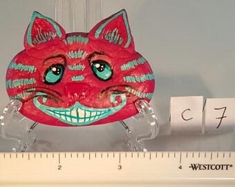 Cheshire Cat Hair Clip