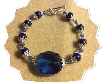 Blue Bracelet-20%off use coupon code MERRY20
