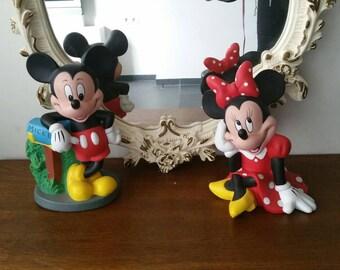 Mickey and Minnie Disney Banks