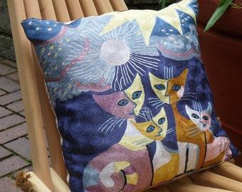 Cat Design Cushion cover