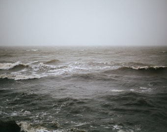 Limited edition 11x14 inch print of stormy ocean