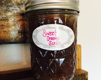 Sweet Orange Sugar Scrub