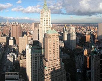 New York City panorama, office decor
