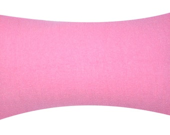 Outdoor Lumbar Pillow Slipcovers 14 x 28,  in Rose, Khaki, Coral, Grey/Black Stripe