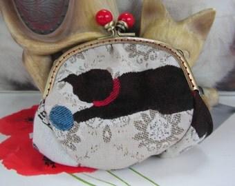 Matching bag cats wallet