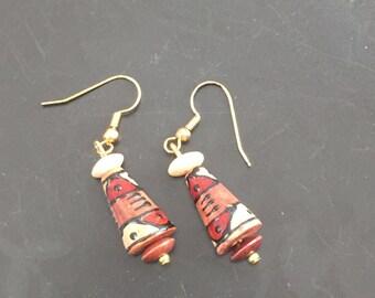 Southwest Style Beaded Earrings