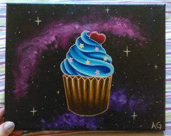 Space Cupcake