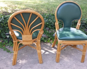 Rattan Dining Chair Set of 6