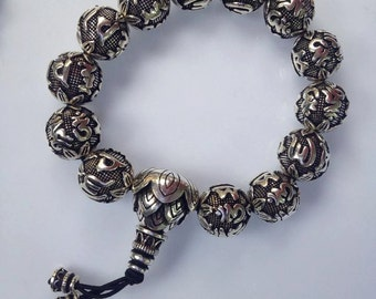 silver bracelet handmade