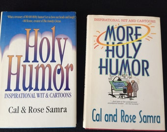 Holy Humor and More Holy Humor book collection