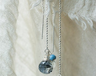 Evening Gem earrings