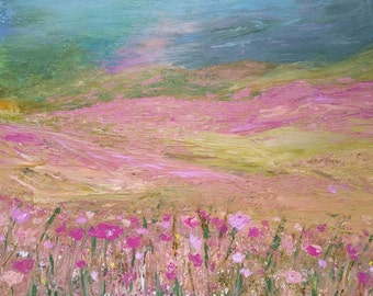 WILD FLOWERS Acrylic Painting Art Painting Original Art Painting Gifts for Art Home Decor Wall Hangings 16 x 20