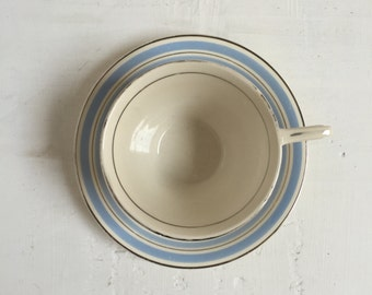 Vintage Art Deco tea cup and saucer Solianware