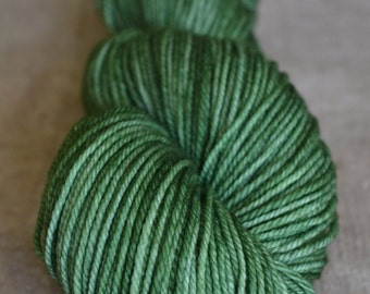 Hand Dyed Yarn ~ Blue Faced Leicester Wool ~ Sock weight ~ 355 yards ~ Nettles