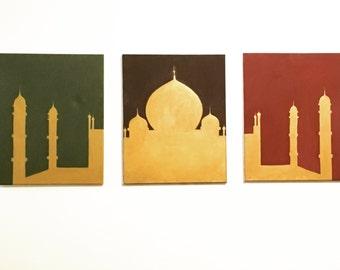 Gold Taj Mahal