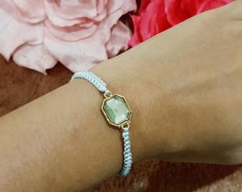 Lucky Jewel Bracelet (Octagon)